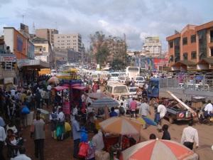 Kampala bus station